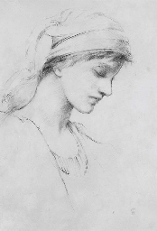 Study of a young girl in profi