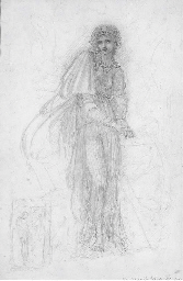 Study of figure and a subsidia