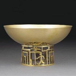 A Hagenauer brass bowl