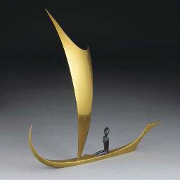 A Hagenauer patinated bronze a