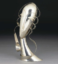 A Hagenauer nickelled metal bu
