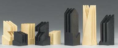 An abstract wood set and foldi