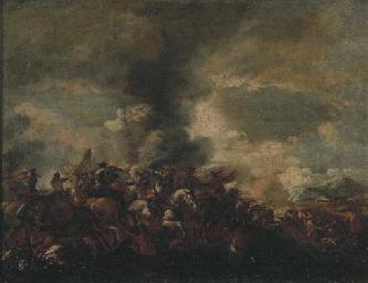 Scontro tra cavalleria e fante