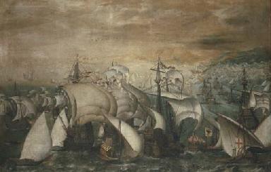Andrea Doria conduce l'Imperat