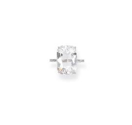 A 'GOLCONDA' DIAMOND SINGLE-ST
