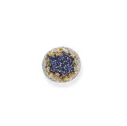 A YELLOW DIAMOND, DIAMOND AND