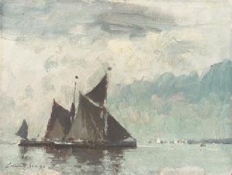 Barges under Sail