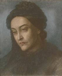 Portrait of Christina Rossetti