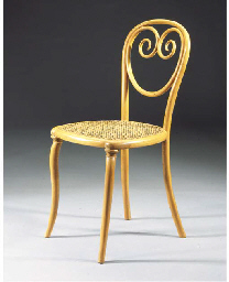 No. 2, a bentwood chair