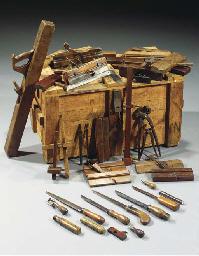 Rietveld's carpenter's tools