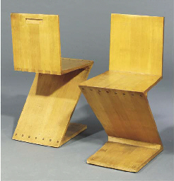 (2+ cert.) A pair of wooden zi