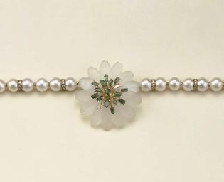 Collana in perle coltivate, cr