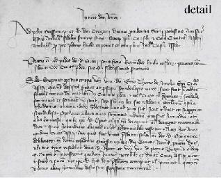 PADUA. Two manuscript account