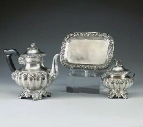 Servizio caffe in argento