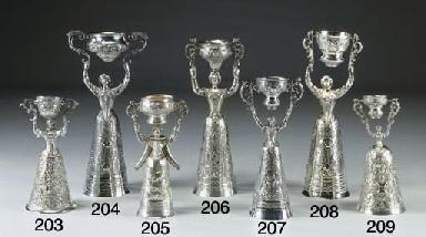 Coppa dell'amore in argento
