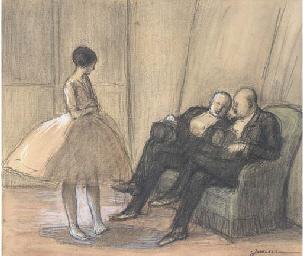 Dans les loges du ballet