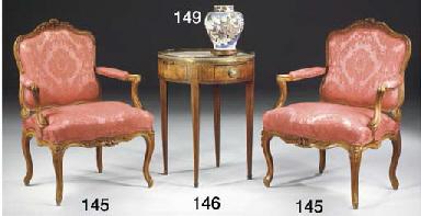 TABLE BOUILLOTTE D'EPOQUE LOUI