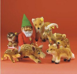 Steiff woodland animals