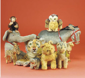 Steiff animals