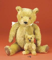 A small Chad Valley teddy bear