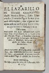 BUSTAMENTE CARLOS, Calixto (fl