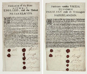 [BREDA, TREATY OF, 1667]. Publ