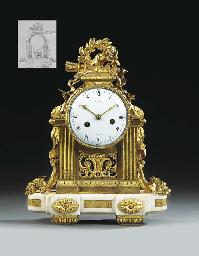 A LOUIS XVI ORMOLU AND WHITE M
