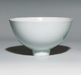 A WHITE-GLAZED BOWL, LIANZIWAN