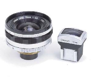 Canon 19mm. f/3.5 no. 12151