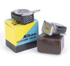 Nikon exposure meter no. 95437