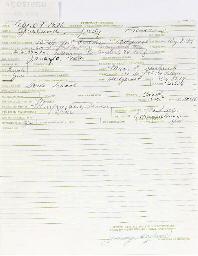 JUDY GARLAND SIGNED DOCUMENT