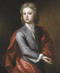 Portrait of a boy, half-length
