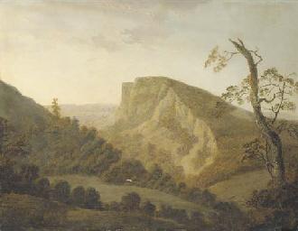 View of High Tor, Matlock, Der