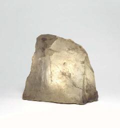 A QUARTZ TABLE LAMP