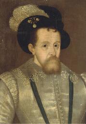 Portrait of James I, quarter-l