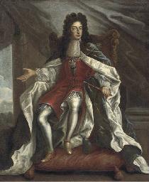 Portrait of William III, full-