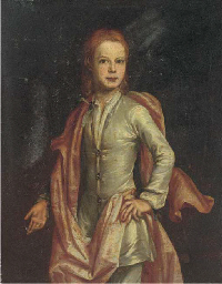 Portrait of boy, three-quarter