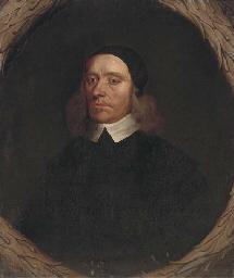 Portrait of a cleric, half-len