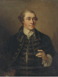 A portrait of Henry Hanson, ha