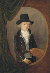 Portrait of an artist, small h