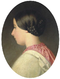 Portrait of a girl, bust-lengt