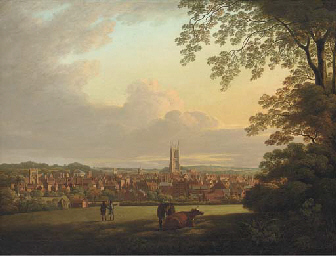 A extensive view of Derby, wit