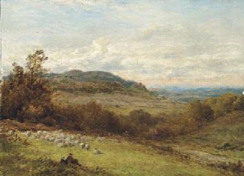 On the Surrey hills