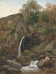 An over-shot water-mill