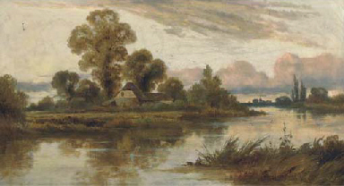 A Summer evening on the Thames