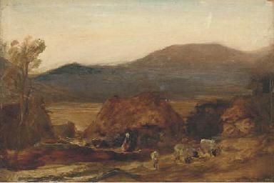A mountainous landscape, with