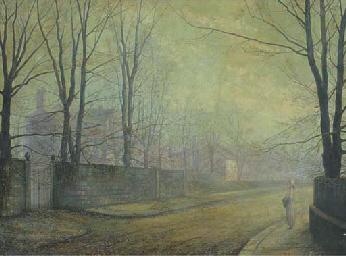 A moonlit street