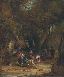 A gypsy encampment
