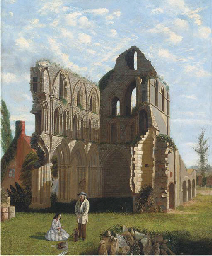 Much Wenlock Priory, Shropshir
