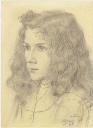 Meisjeskopje (Portrait of Jopi